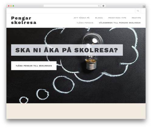 Belise Lite free website theme - pengar-skolresa.se