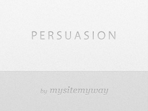 Persuasion WP template