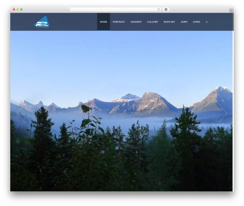 Supernova - Multi-Purpose Theme WordPress website template - peakguide.ch