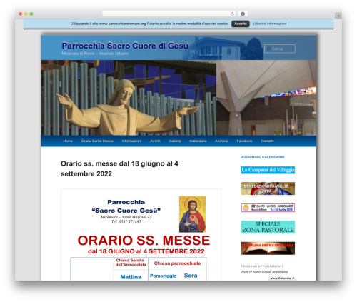 Free WordPress Twenty Eleven Theme Extensions plugin - parrocchiamiramare.org