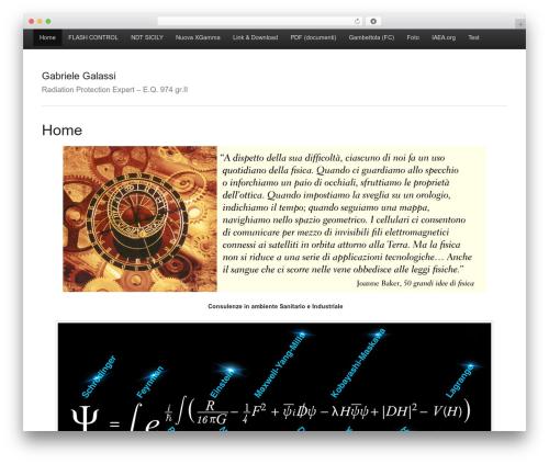 WordPress template Activetab - galassi.pro