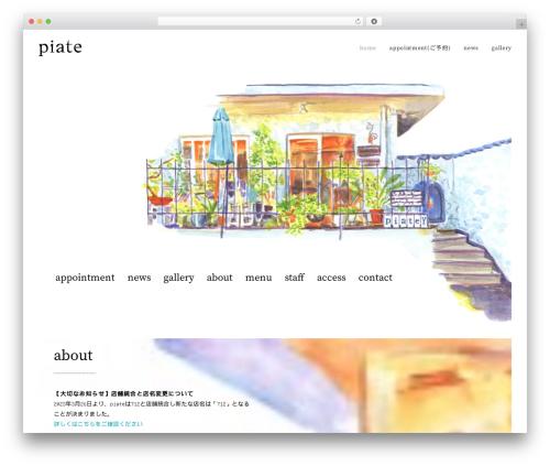 WordPress uncode-core plugin - piate.jp