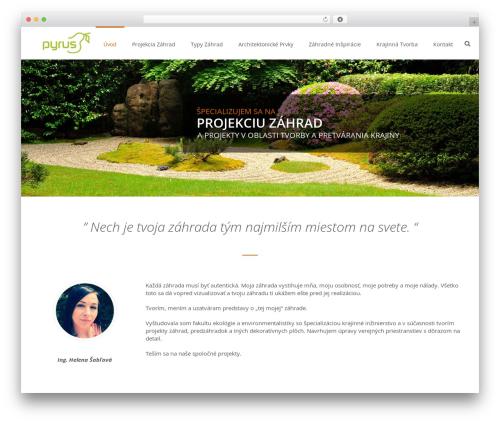 Jupiter WordPress theme - pyrus.sk