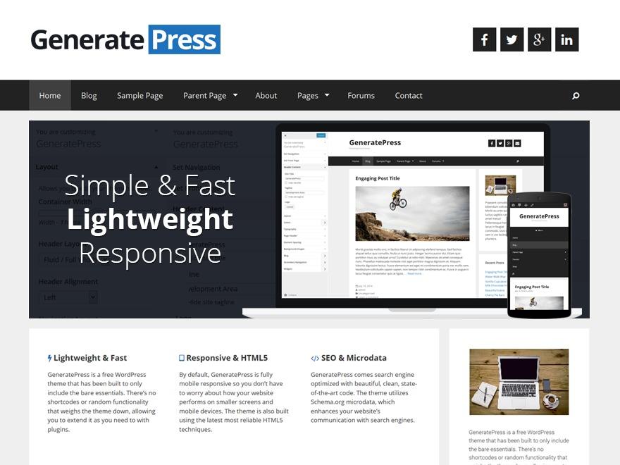 promech WordPress ecommerce theme