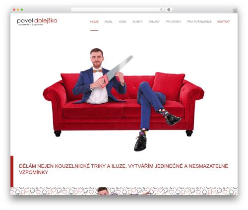 Waxom best WordPress template - paveldolejska.cz