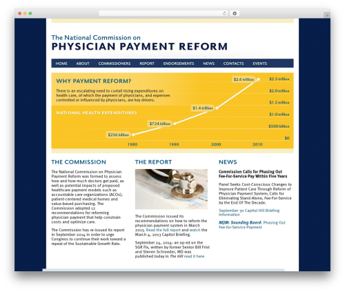 Agivee WordPress template - physicianpaymentcommission.org