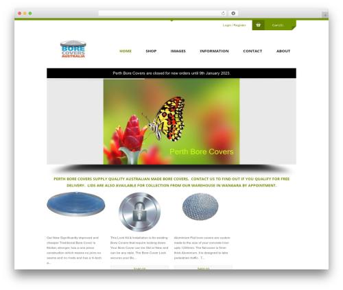 Anps's Shopifiq WordPress shop theme - perthborecovers.com.au
