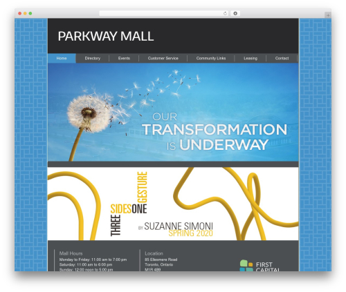 Best WordPress template Gantry Theme for WordPress - parkwaymall.ca