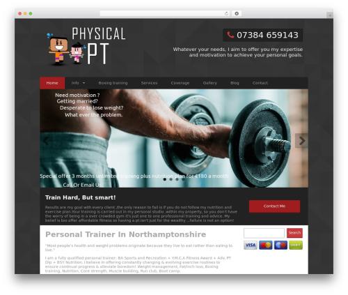 Best WordPress theme Edm - physicalpt.co.uk