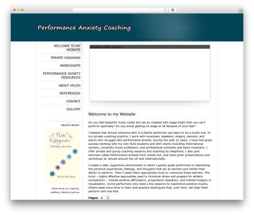 Classic Theme 3 WordPress ecommerce template - performconfidently.com