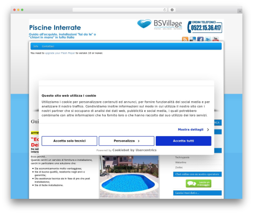 Pegasus WordPress theme - piscineinterrateprezzi.it