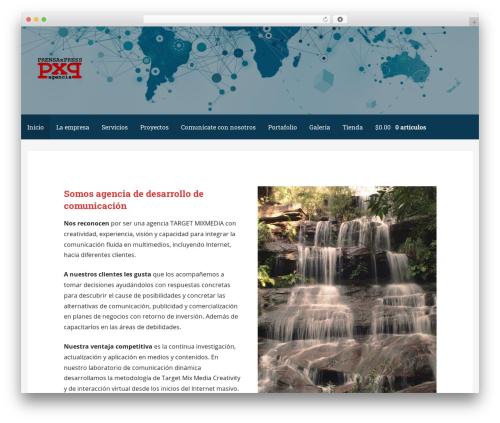 Primer theme WordPress free - prensaxpress.com