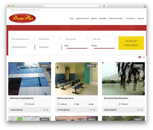 Theme WordPress NOO Citilights - propieplus.com