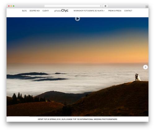 Theme WordPress Tripod - photochic.ro