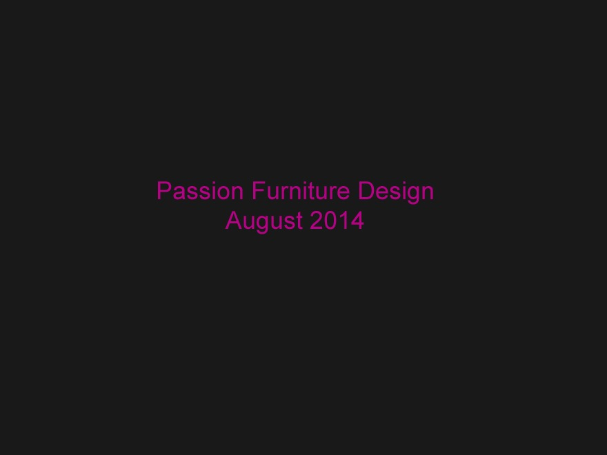 Best WordPress template Passion Furniture Design