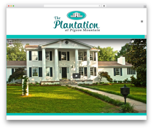 Jupiter WordPress wedding theme - pigeonmountainplantation.com