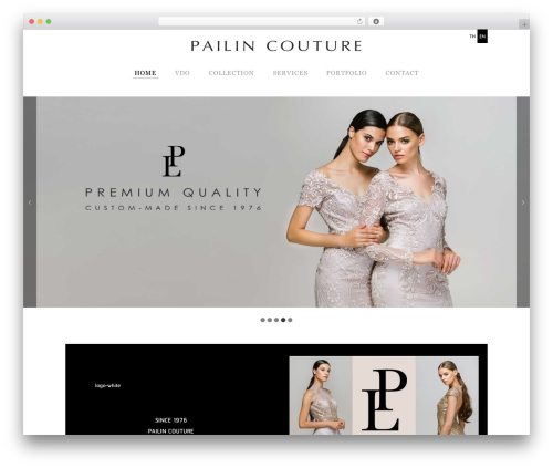 Free WordPress Easy Responsive Tabs plugin - pailincouture.com