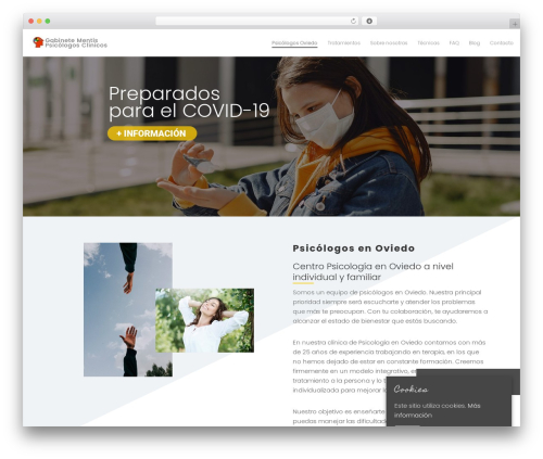 Template WordPress Movedo - psicologosmentis.com