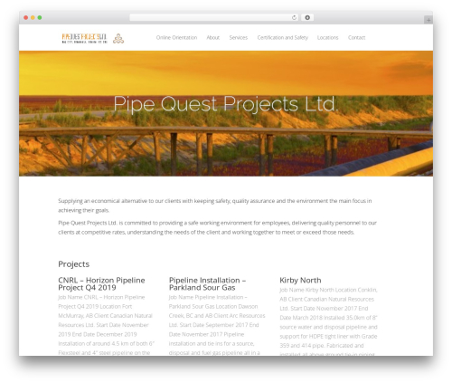 Vertex WordPress theme free download - pipequestprojects.com