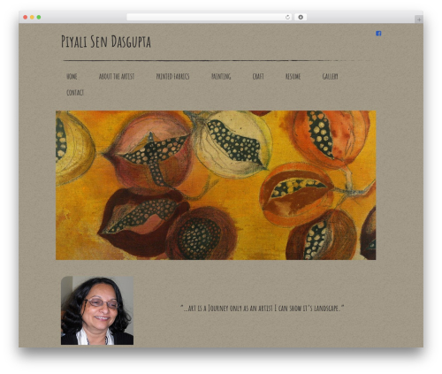 WordPress theme Your Web Layout - piyalisendasgupta.com