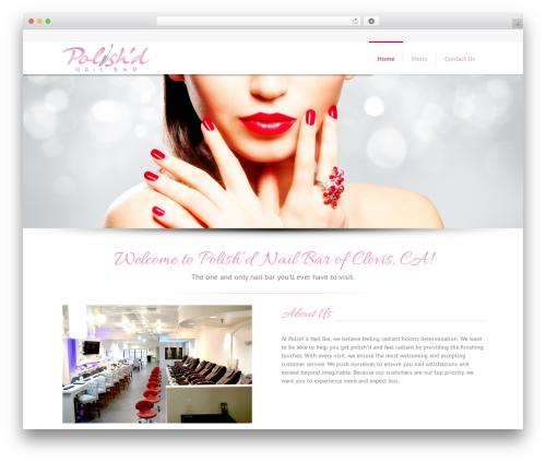 Lounge best WordPress template - polishdnb.com