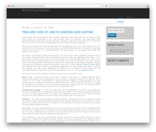 WordPress theme Simplicity Lite - peacerights.org