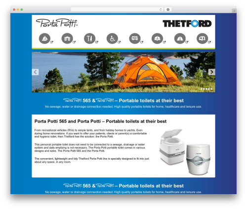 Best WordPress template Thetford Porta Potti - porta-potti.co.za