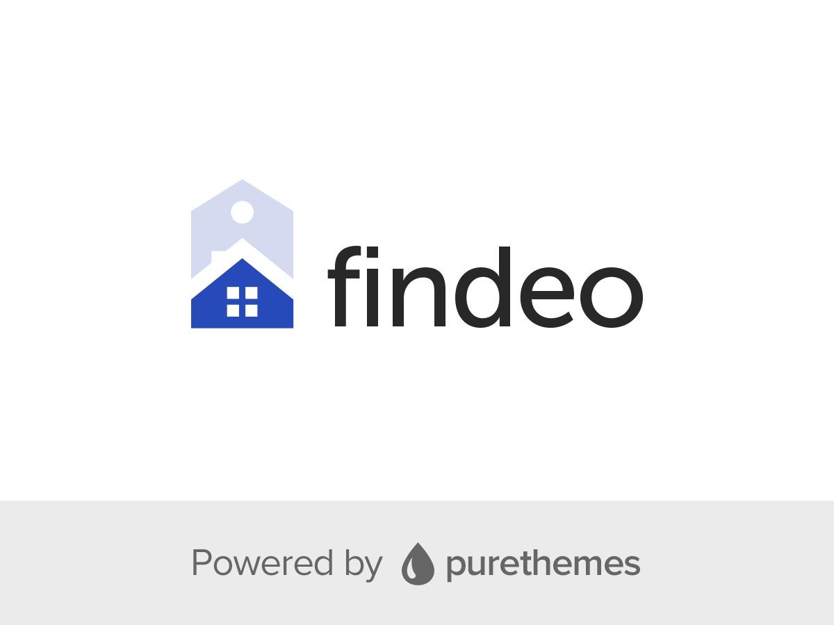 Findeo ChildTheme real estate template WordPress