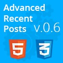 Free WordPress Advanced Recent Posts plugin by Eugene Holin