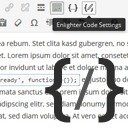 Free WordPress Enlighter – Customizable Syntax Highlighter plugin