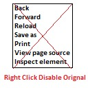 Free WordPress Right Click Disable Orignal plugin
