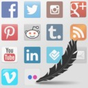 Free WordPress Social Media Feather | social media sharing plugin