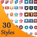 Free WordPress Social Media Flying Icons | Floating Social Media Icon plugin