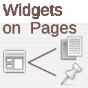 Free WordPress Widgets on Pages plugin