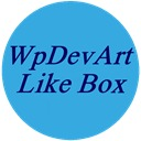 Free WordPress WpDevArt Facebook Like Box Widget plugin