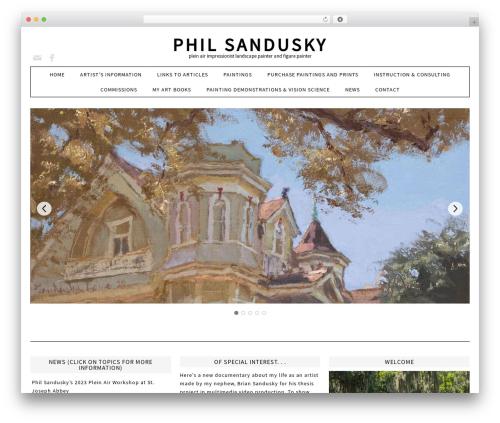 Fun WordPress Theme landscaping WordPress theme - philsandusky.com