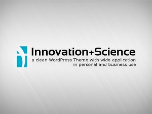 Innovation+Science WordPress template for business