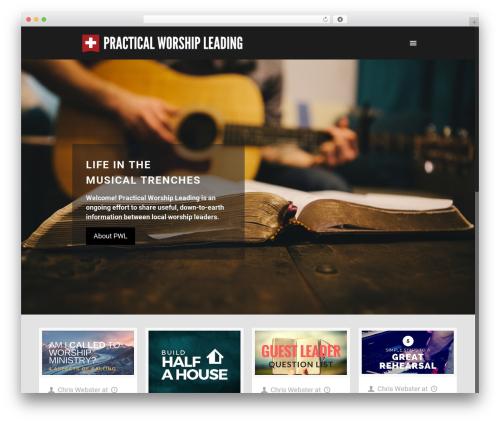Betheme WordPress theme - practicalworshipleading.com