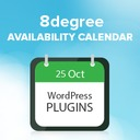 Free WordPress 8 Degree Availability Calendar plugin