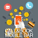 Free WordPress Call&Book Mobile Bar plugin