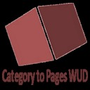 Free WordPress Category to Pages WUD plugin
