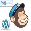Free WordPress Mailchimp Subscription Custom Form plugin