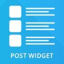 Free WordPress Post Widget plugin