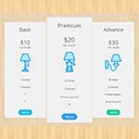 Free WordPress Pricing Table by PickPlugins plugin