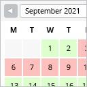 Free WordPress WP Simple Booking Calendar plugin by WP Simple Booking Calendar