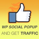 Free WordPress WP Social Popup and Get Traffic plugin
