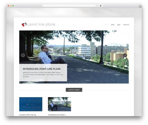 Widely WordPress theme design - plp3d.com