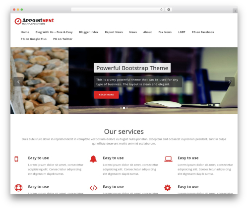 Appointment WordPress news theme - politicalgroove.com