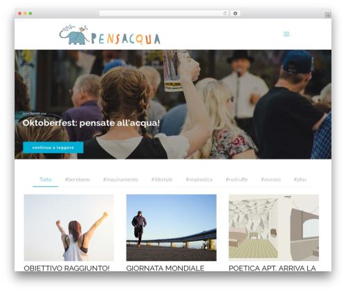 Betheme WordPress blog theme - pensacqua.it