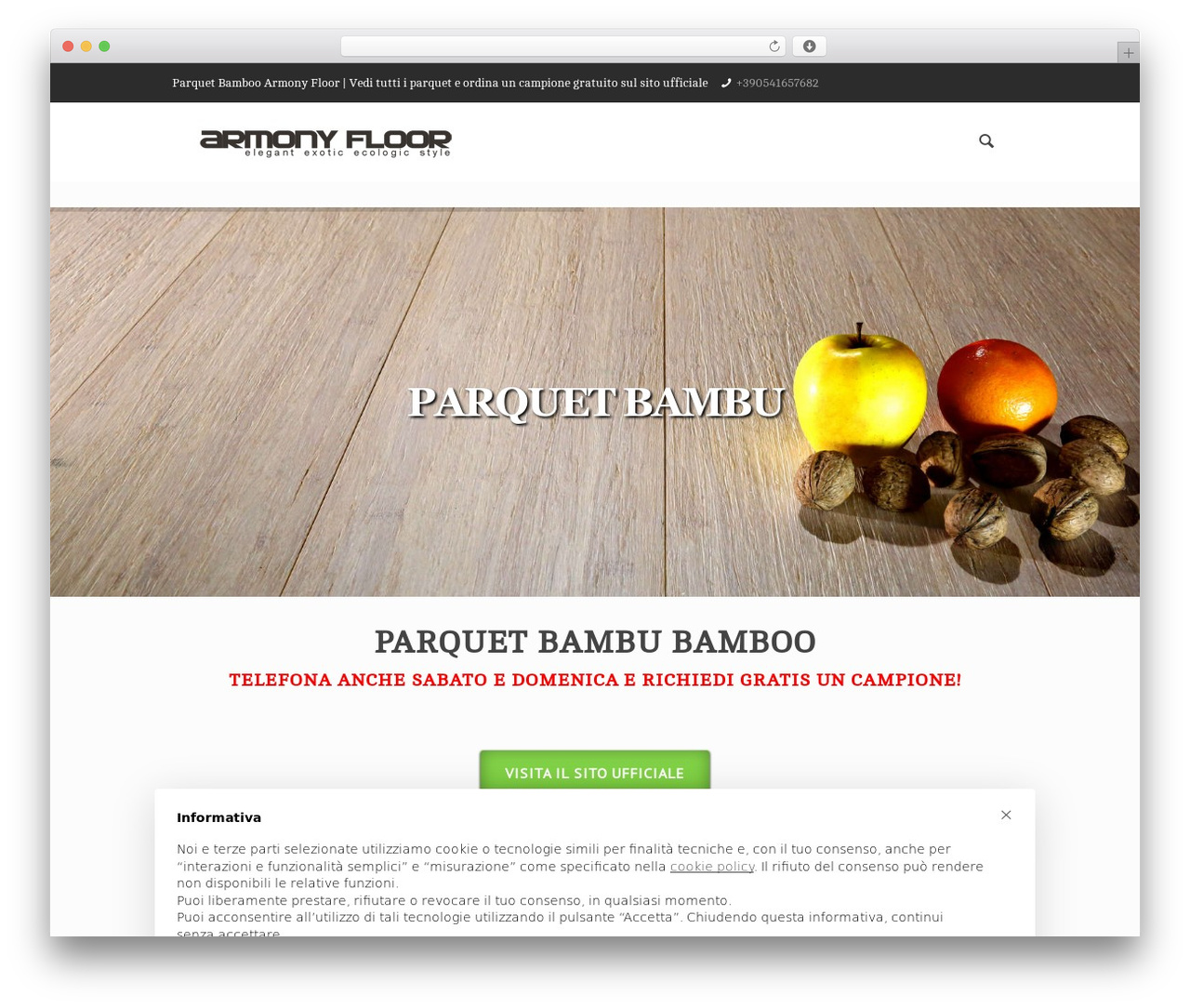 Betheme WordPress theme - parquetbambu.it